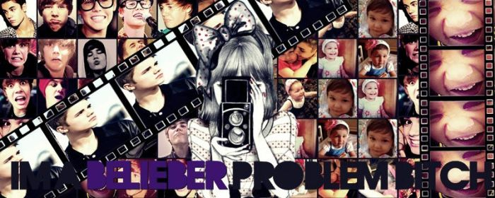 portada : Im a belieber problem bitch by sofialaunicornia