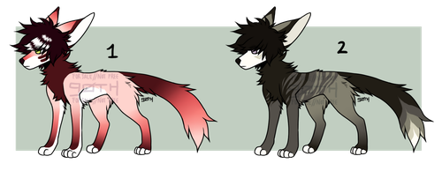 [OPEN] 2 doggos by tokengoth