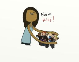.Now kiss!. by bababug