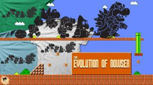 The Evolution of Bowser by rtofirefly