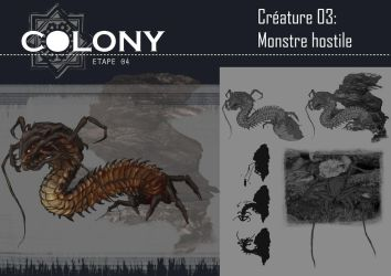 Colony: hostile creature by Popuche