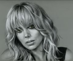 Charlize Theron by Cynthia-Blair