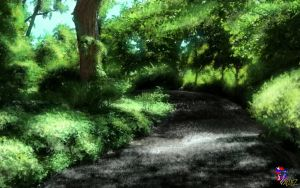 The road in the Forest by JoelDValdezC021315