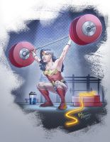 CrossFit Wonder Woman by kpetchock