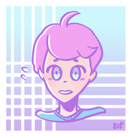 Pastel Pink Boi by united-drawer