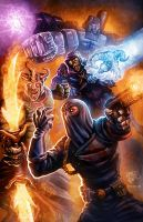 1980's Villains Attack by Lord by RyanLord