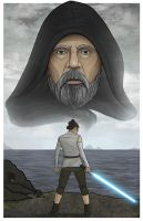 The Last Jedi by SumtimesIplaytheFool