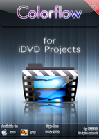 Colorflow Icon for iDVD by xazac87