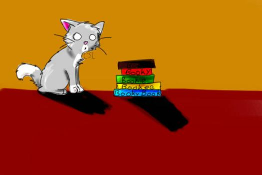 Books, on books on books, by Cuddlysnowleopard