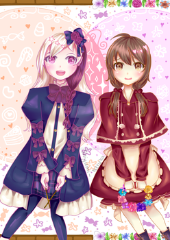 ALICE MARE: Sweets + Flowers, Letty + Chelsy