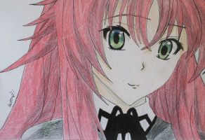 rias gremory by Anime-With-Jackson