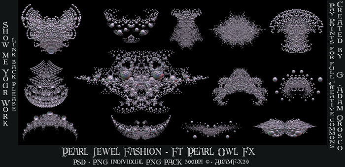 Pearl Fashion - Ft Pearl Owl Fx edited-1 by ArtwithoutabrushFx