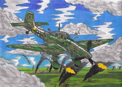 Tank buster by AviatorGriffin