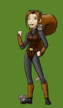 'Chipmunk' as Squirrel Girl by BloodyWilliam