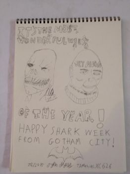 Happy Shark Week from Gotham City 2015 by TDManiacXC626