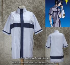Ishida's blue shirt (Bleach cosplay) by Stahlrose