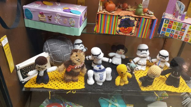 Star Wars Gang Crochet Figures State Fair 2016 by blah1200