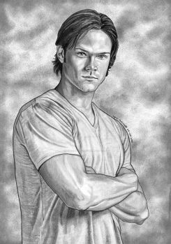 Sam Winchester by lupinemagic