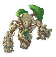 Root Golem by Xythanon