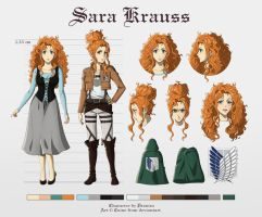 Character Reference - Sara Krauss by Cuine