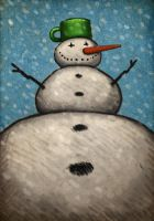Snowman by MaComiX