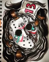 Thursday the 13th, Jason Weeps by MissInfected