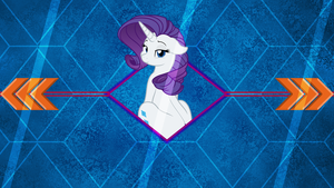 Miss Rarity by Laszl