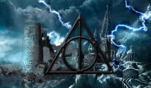 Deathly Hallows wallpaper by Gray-Z-Gracie