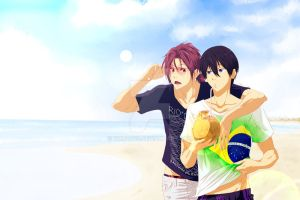 RinHaru Week - Day 2 - Rio... by Yohao88