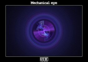 Mechanical eye by iFeelNoSorrow