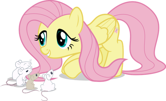Fluttershy, and its Rosidents by Comeha