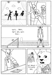 FNAF comic - New animatronic - page 49 by sophie12320