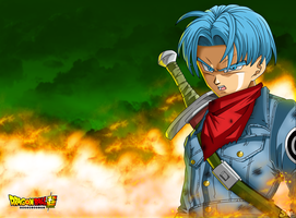 Trunks DBS - Wallpaper by SaoDVD