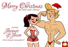 Total Drama - Merry Christmas by dAshamechan