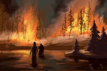 Fire by tin-sulwen