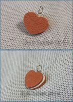 Decoden heart sandwich cookie charm by Kyle-Lefort