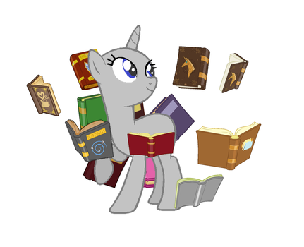 Unicorn Reading Time! Base by QueenSheWolf by QueenSheWolf
