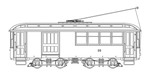Trolley Drawing by ham549