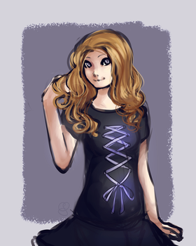 Aura :commission: by calendae