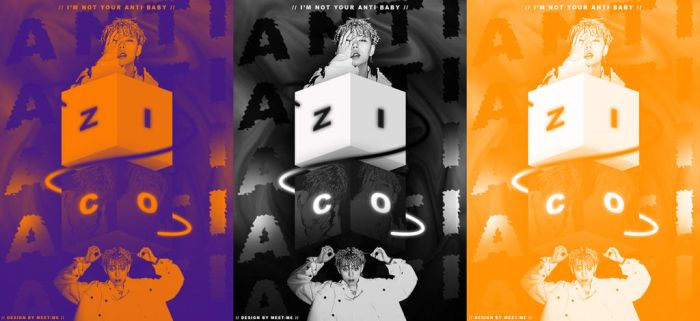ZICO X ANTI GRAPHIC DESIGN POSTER | 20172507 by Meet-Me