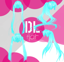 [MMD] TDA Hair Small Package2 - DL by Aliskysw