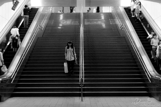 Braving the Stairs by Ulprus