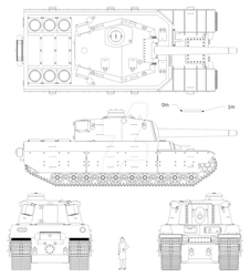 Type 2604 Heavy Tank by Giganaut