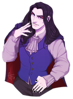 dream daddy (damien) by CaiitKat
