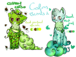 Clean-y Cats adopts - Clam Scents (OPEN) by PurpleNightTheKitty