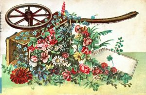 Flower Cart by Yesterdays-Paper