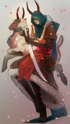 sheep nomad by Chaotic-Muffin