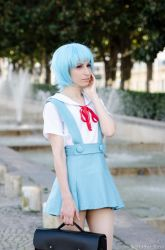 Ae as Rei Ayanami by AE-cosplay