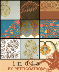 Icon Bases: INDIA by petticoatrow