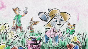 Zootopia - Happy Easter Hunt by Weischede